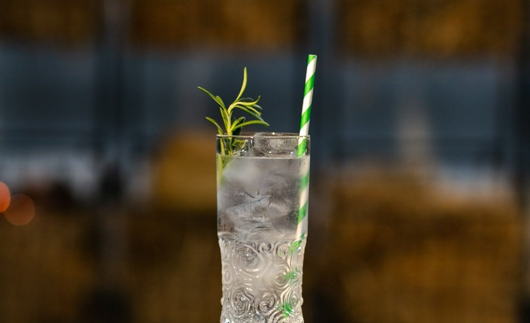 Cucumber & Rosemary Gin Tonic