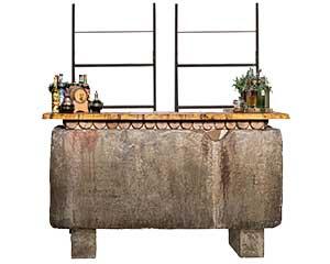Bar Back Stone
